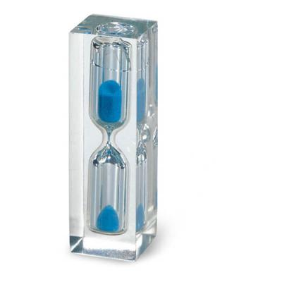 Image of Hourglass with blue sand