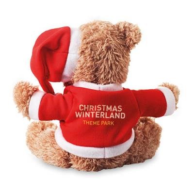 Image of Bear In Christmas Style