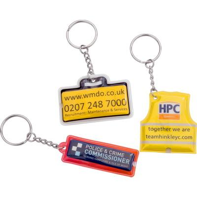 Image of Pressed PVC Torch Keyring
