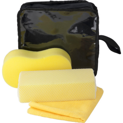 Image of Three piece car wash set.