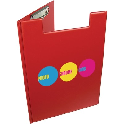 Image of A4 Folder Clipboard - Red