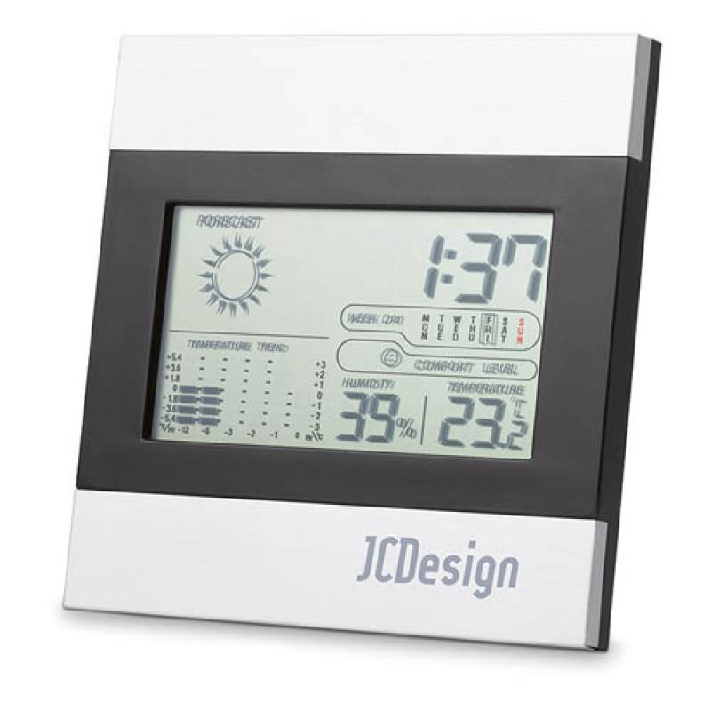 Image of Weather station and clock