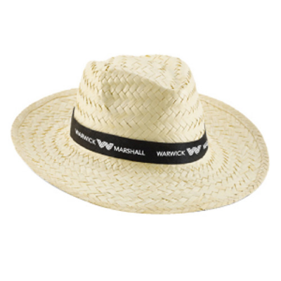 Image of Light Straw Sun Hat