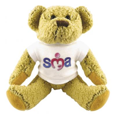 "Image of 8"" Korky Bear with White T Shirt"