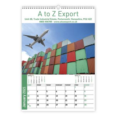 Image of Bespoke Wall Calendar