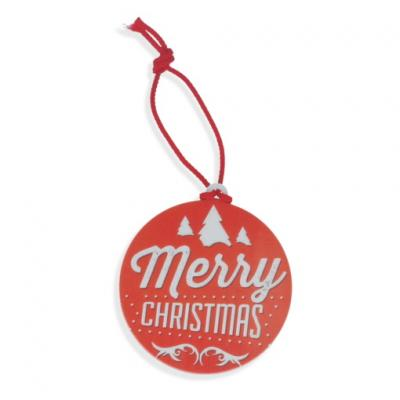 Image of Recycled Circle Christmas Tree Decoration